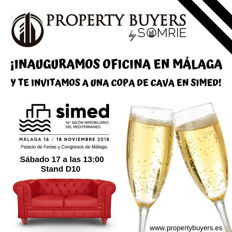 Property Buyers by SOMRIE estará en SIMED del 16 al 18 de noviembre