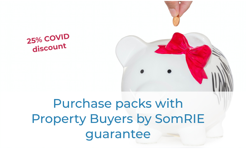 Purchase packs with guarantee Property Buyers by SomRIE