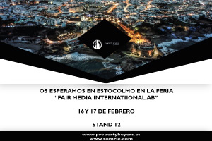 Property Buyers by SOMRIE participa en la feria Fair Media International AB en Estocolmo